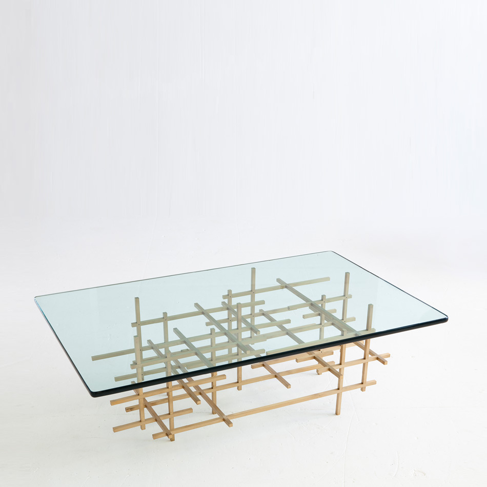 Fran Taubman - Square Bar Coffee Table