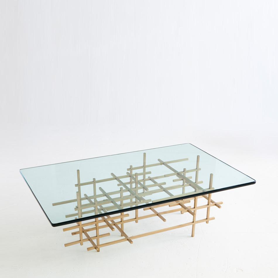 Fran Taubman - Square Bar Coffee Table