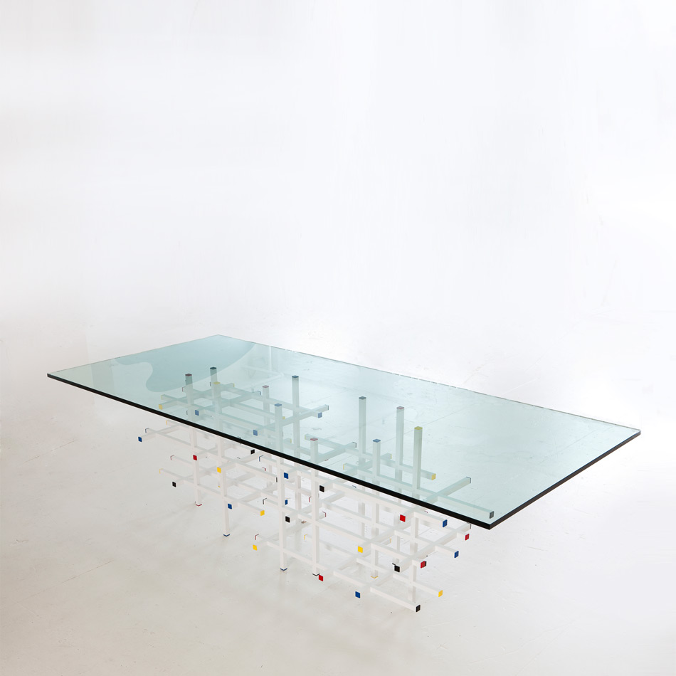 Fran Taubman - Square Bar Dining Table