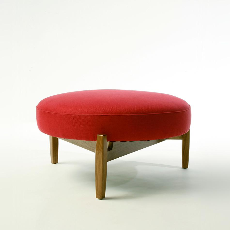 Jens Risom - Round Ottoman