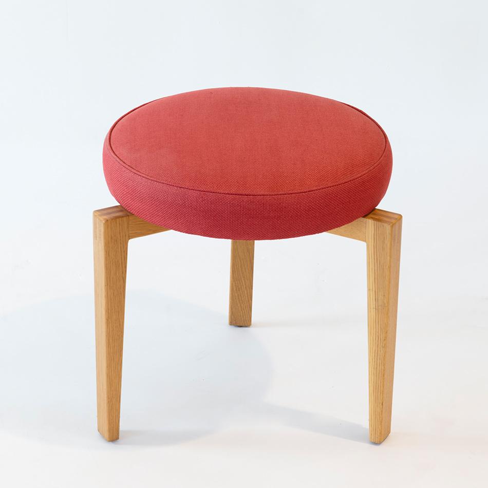 Jens Risom - Upholstered Stool