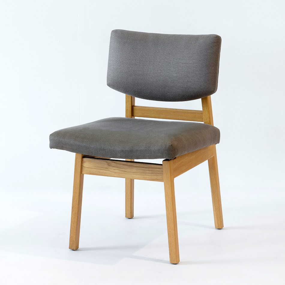 Jens Risom - Square Back Side Chair