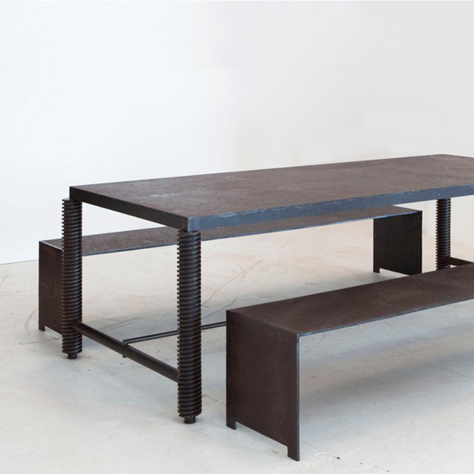 Jerome Abel Seguin - Iron Rectangular Dining Table