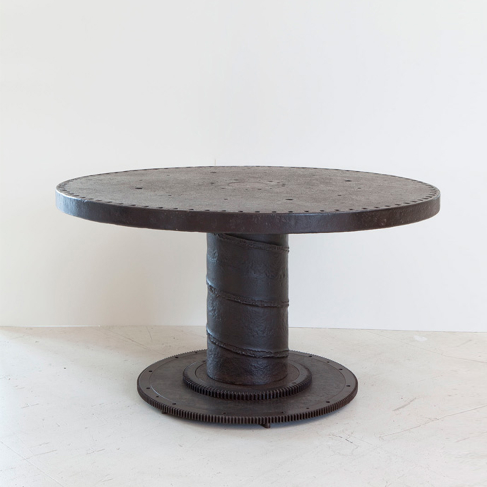 Jerome Abel Seguin - Round Iron Dining Table Gear