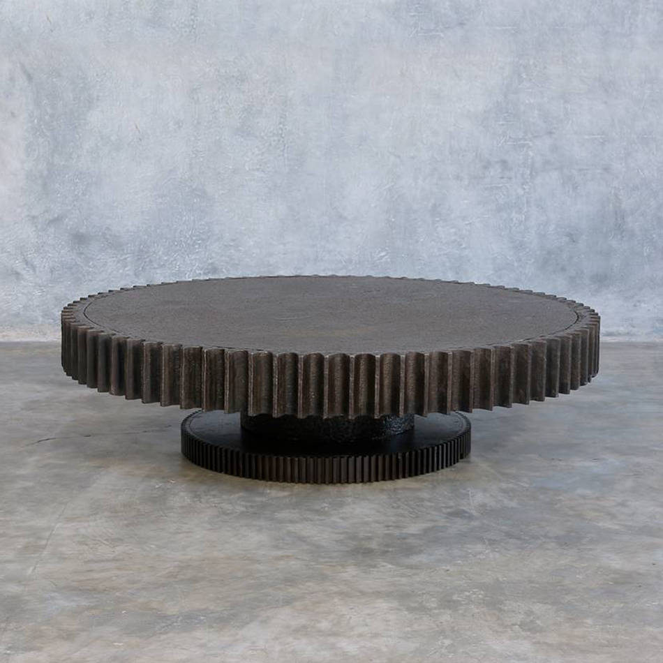Jerome Abel Seguin - Giant Gear Coffee Table