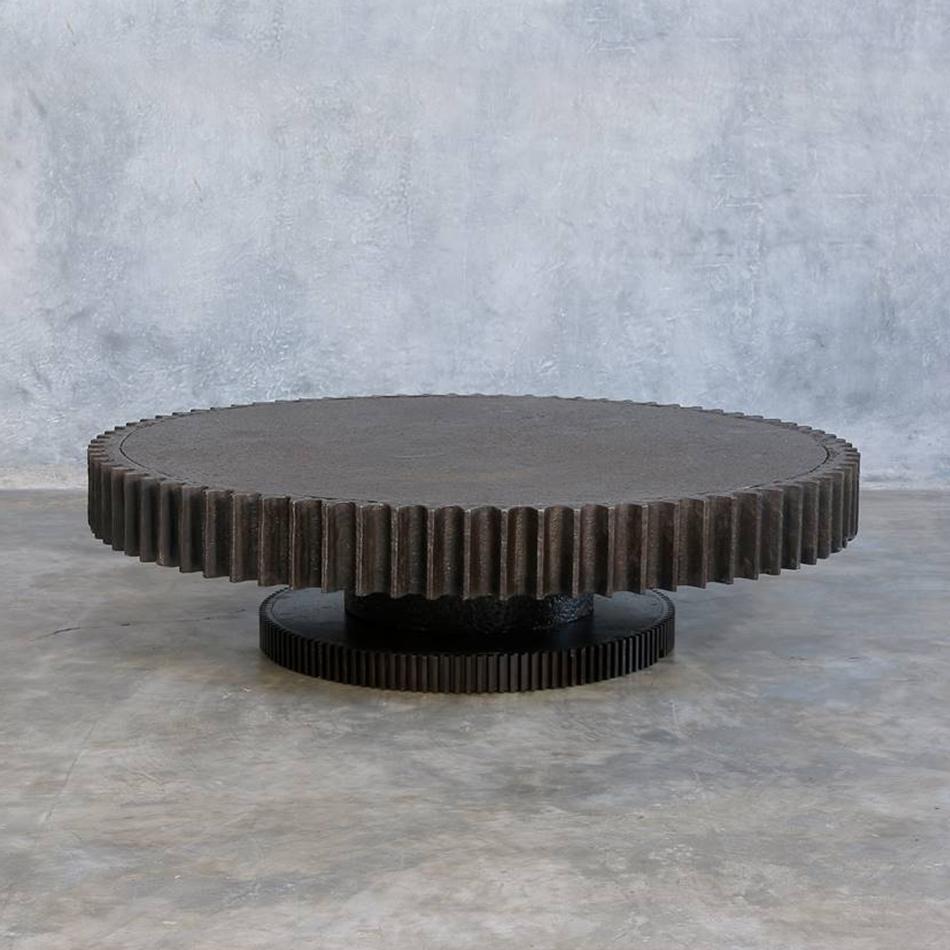 Jerome Abel Seguin - Giant Gear Coffee Table