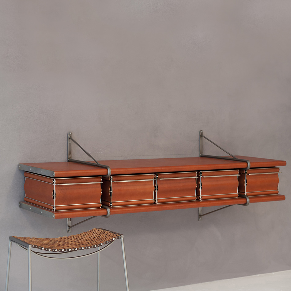 Jim Zivic - Steel and Leather Console