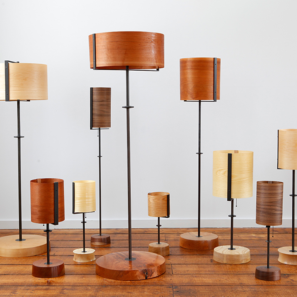 Chris Lehrecke - Veneer Lamps