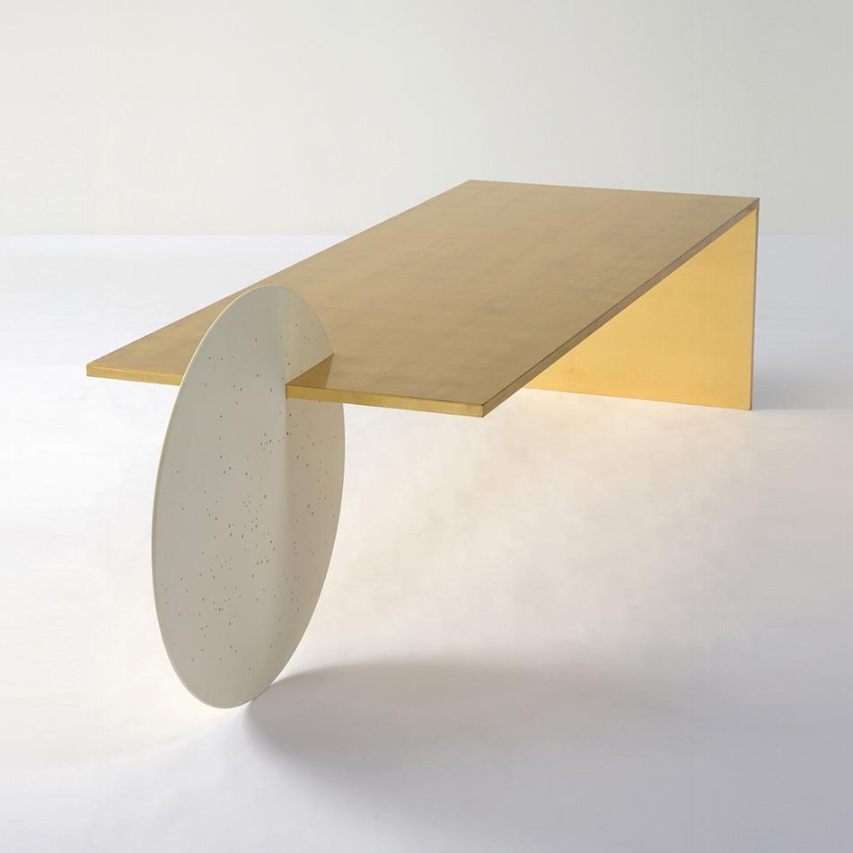 Patrick Naggar - Gold Borealis Coffee Table