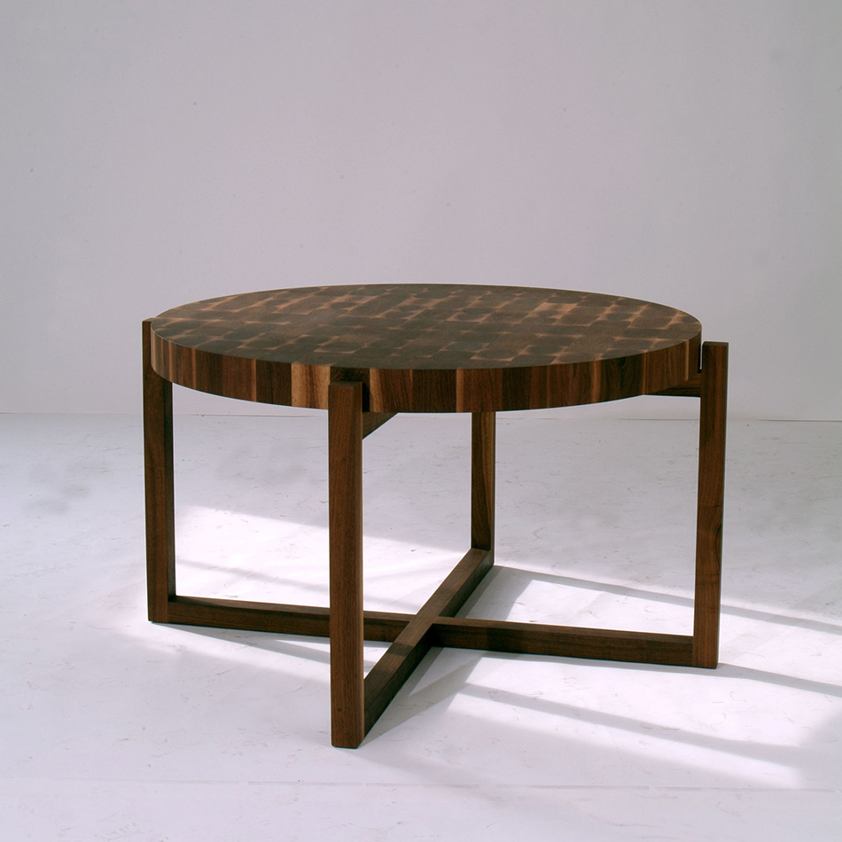 Robert Bristow / Pilar Proffitt - Round Block Table