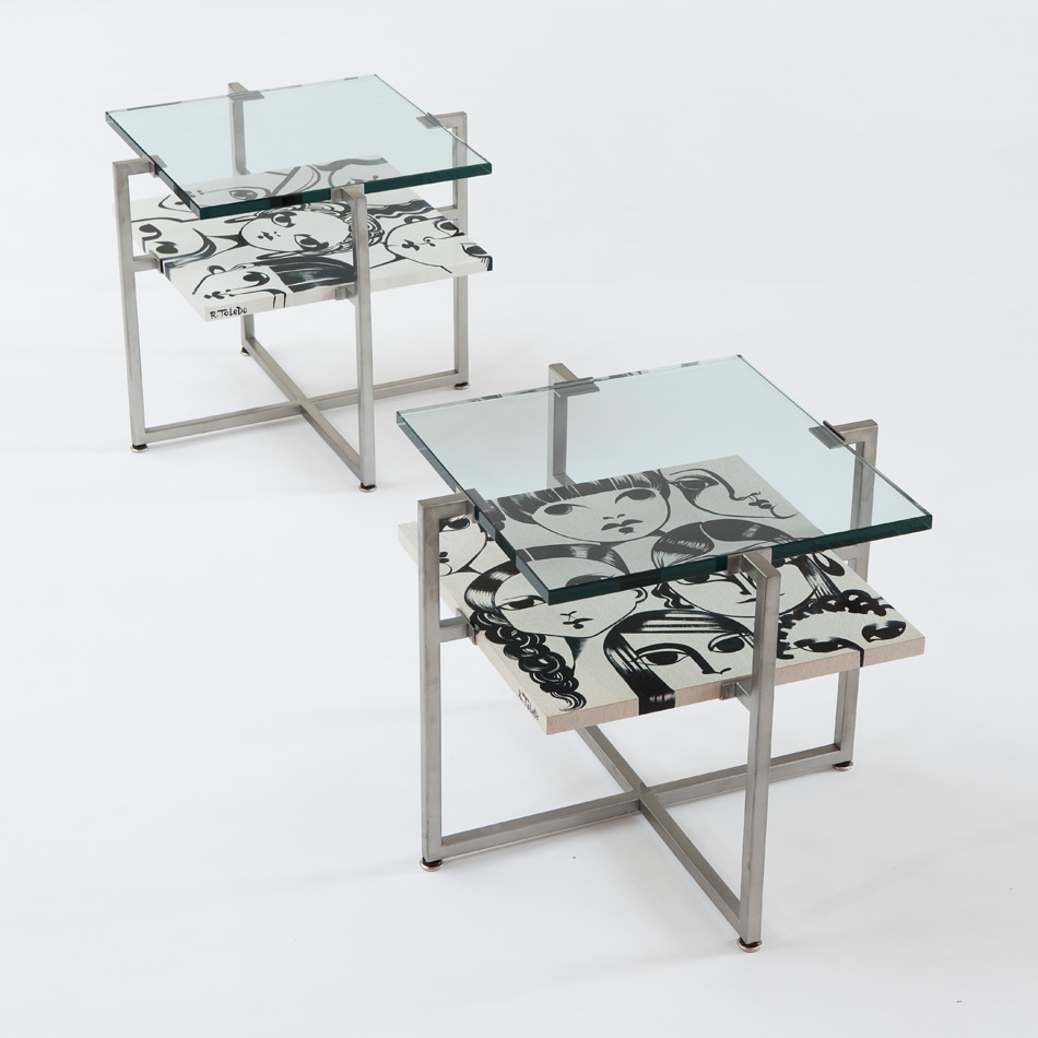 Ruben Toledo - Side Table