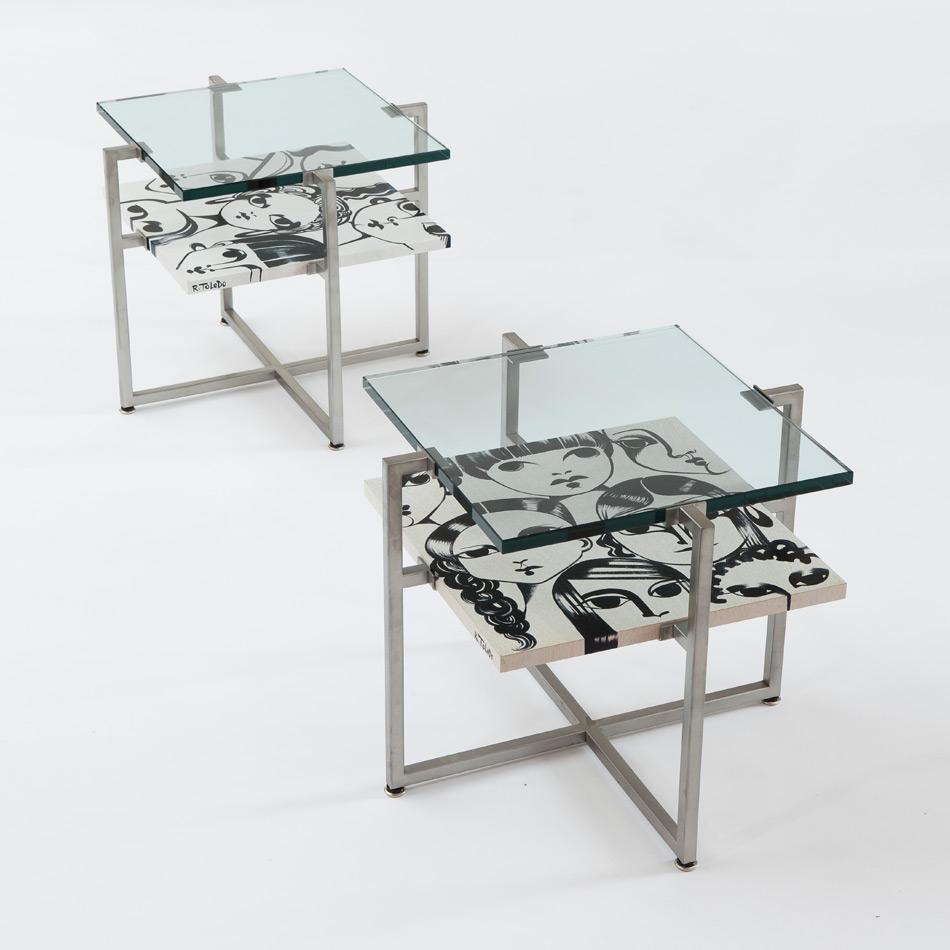 Ruben Toledo - Side Table