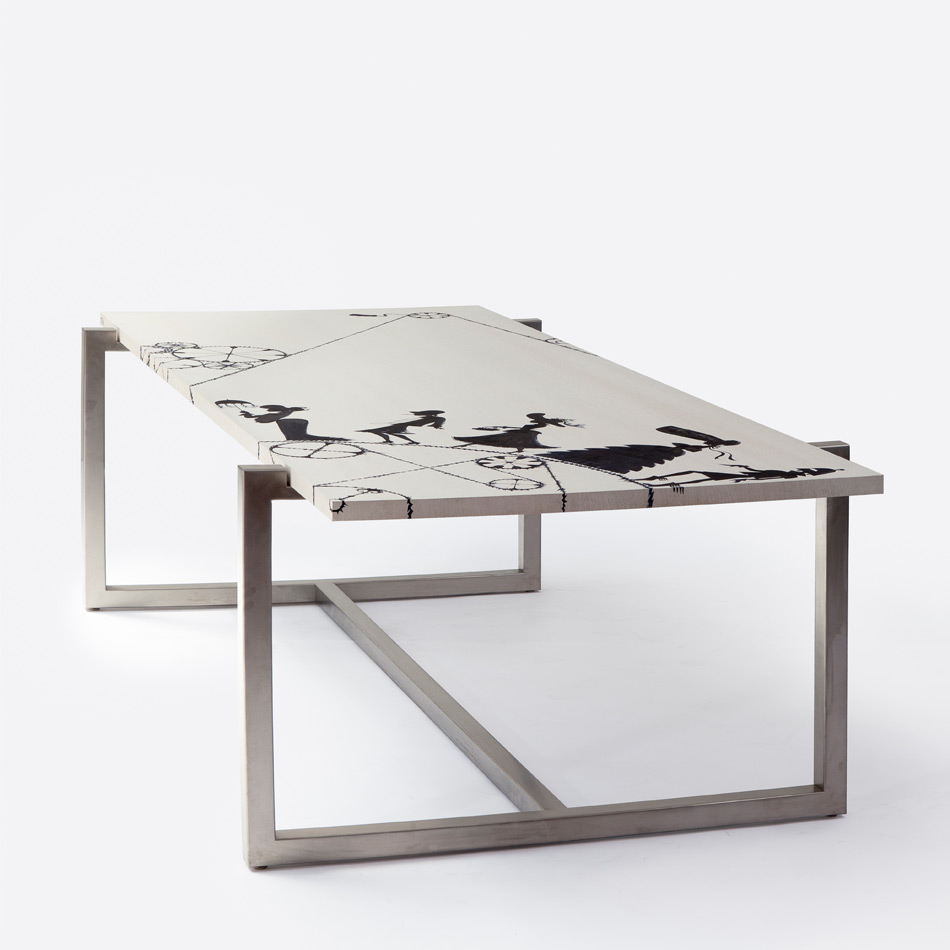 Ruben Toledo - Dining Table