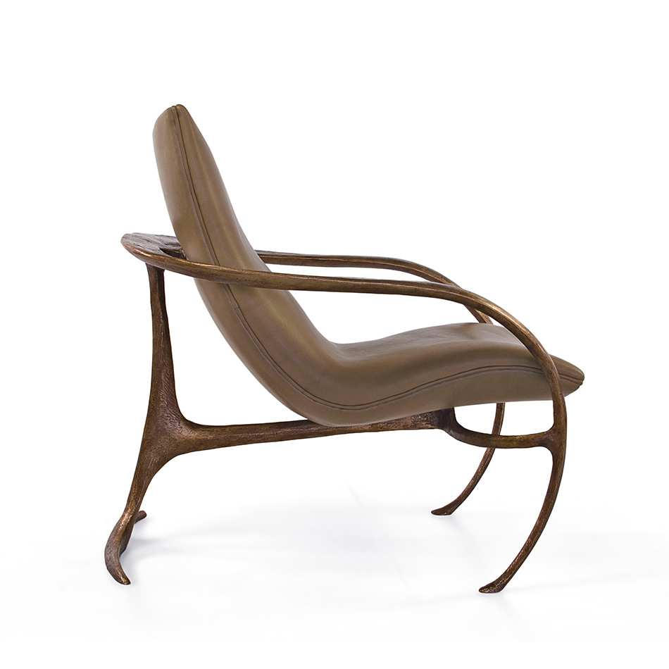 Vladimir Kagan - Gabriella Bronze Chair