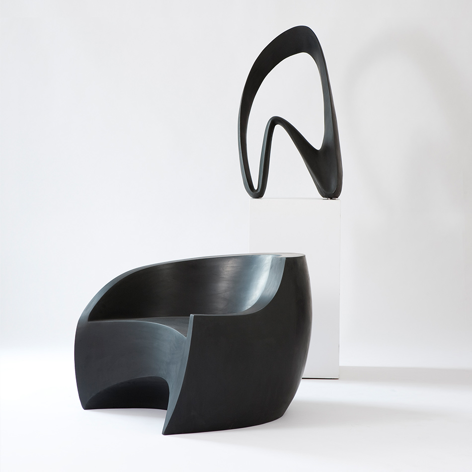 Vladimir Kagan - Black Foundry Chair