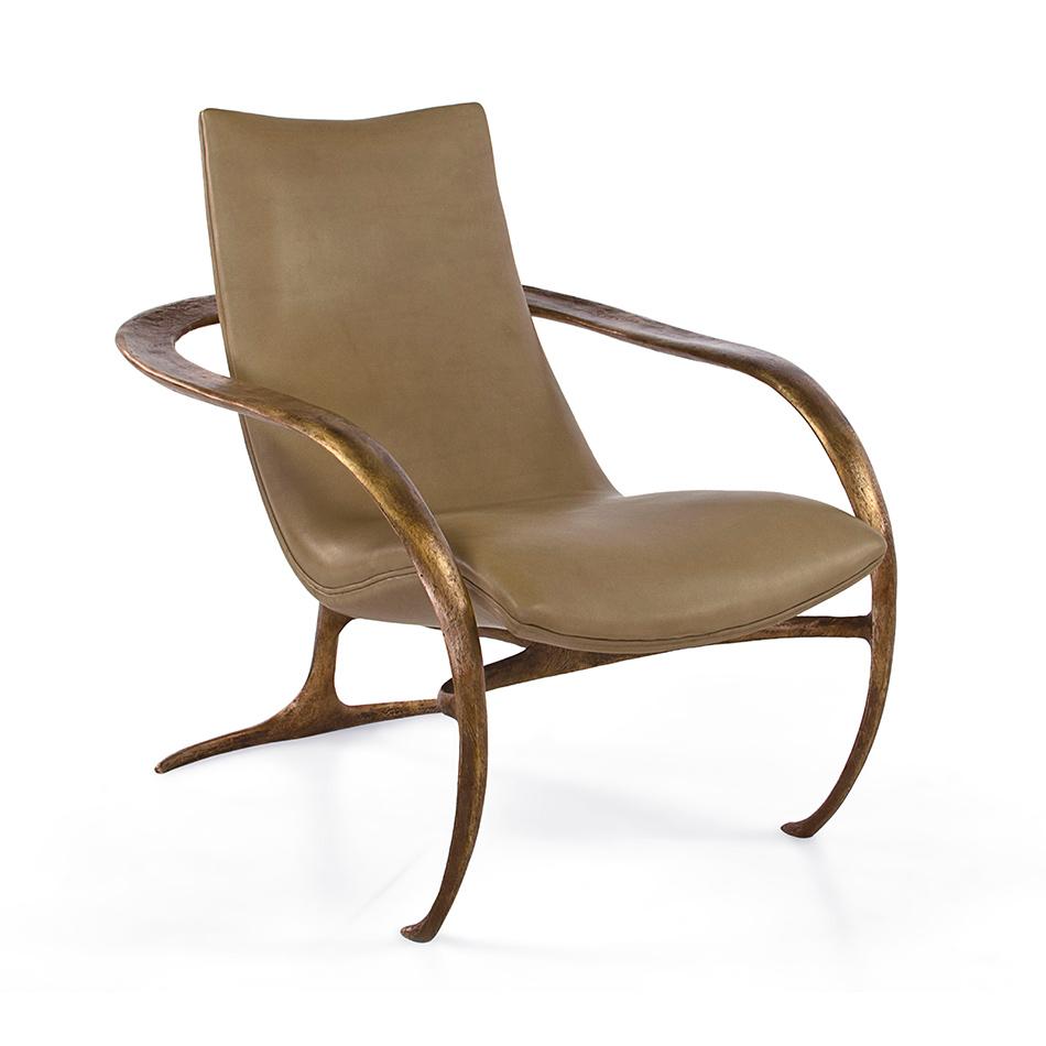 Vladimir Kagan - Gabriella Bronze Chair