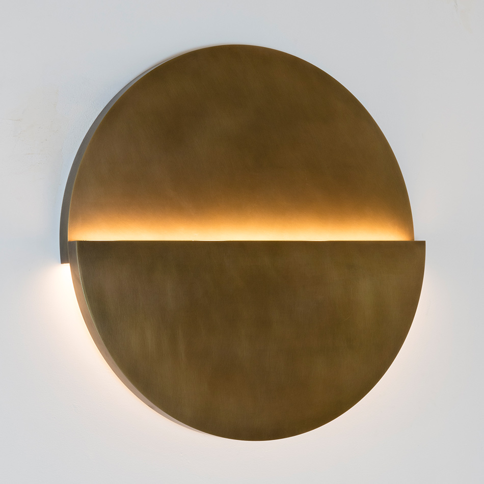 Richard Meier Light - Large Cycladic Circle Sconce