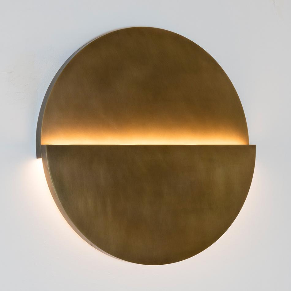 Richard Meier Light - Large Cycladic Circle Sconce