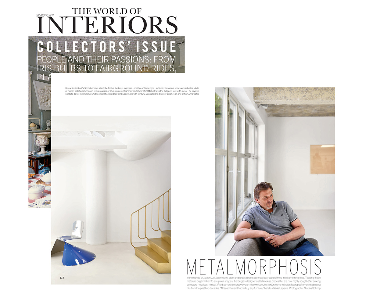 The World of Interiors - Metalmorphosis - Dec 15, 2019 - Xavier Lust