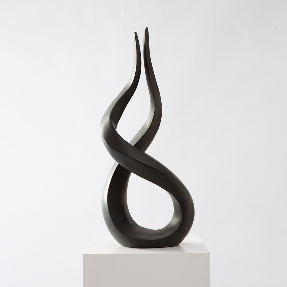 Kagan-Sculpture-Flame-Black