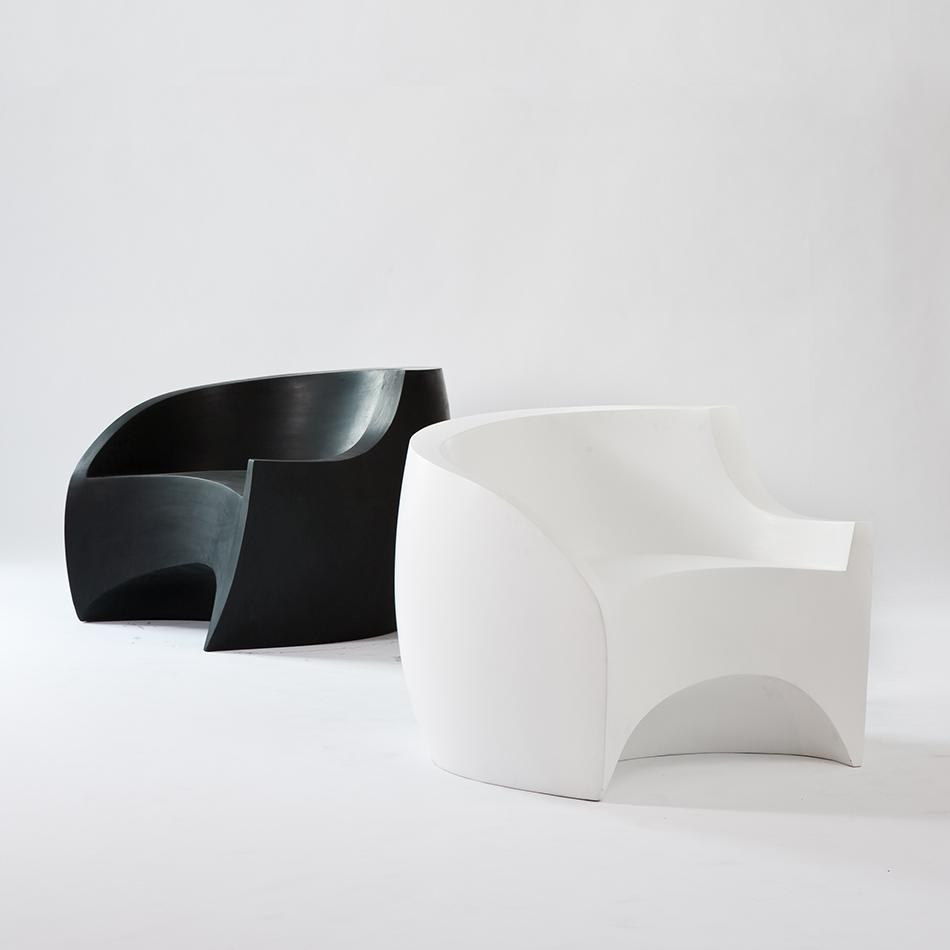 Vladimir Kagan - White Foundry Chair