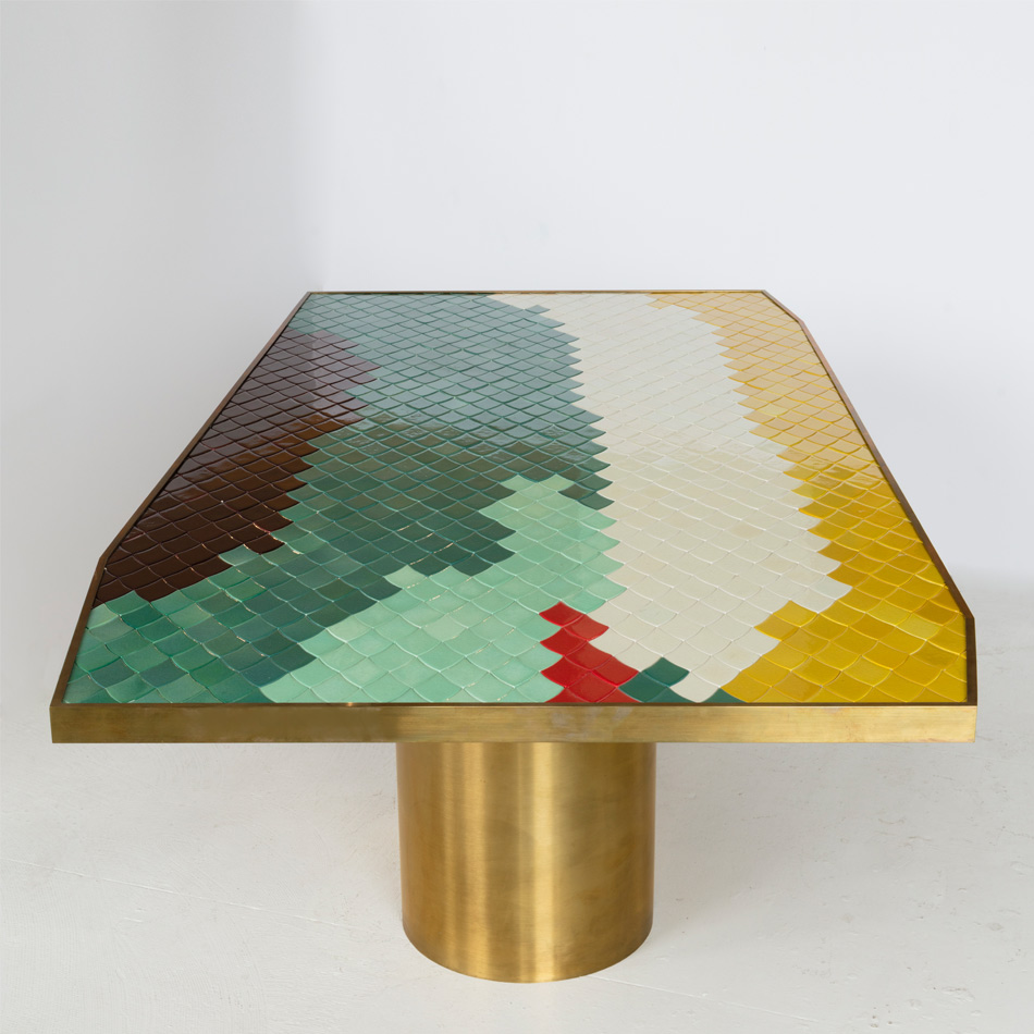 India Mahdavi - Landscape Dining Table