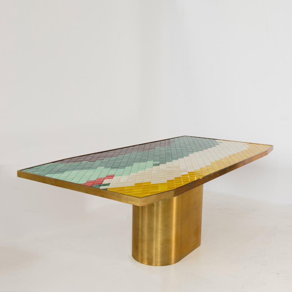 India Mahdavi - Landscape Dining Table