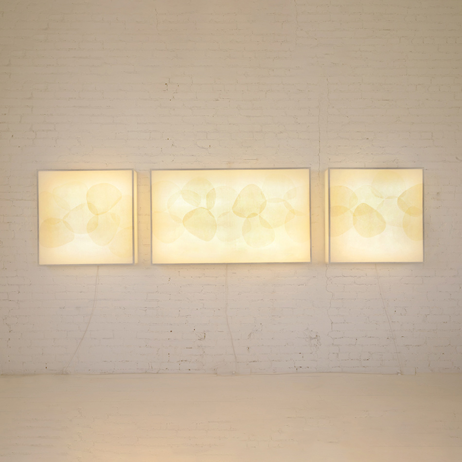 John Wigmore - Light Sculpture 57 and 58 Shapes Series