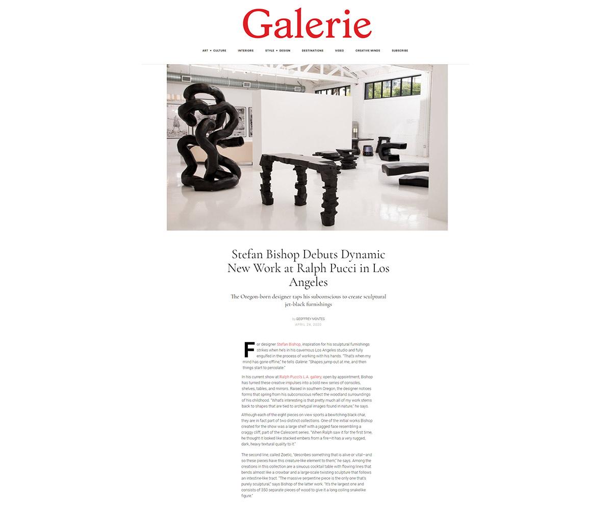 Galerie Magazine April