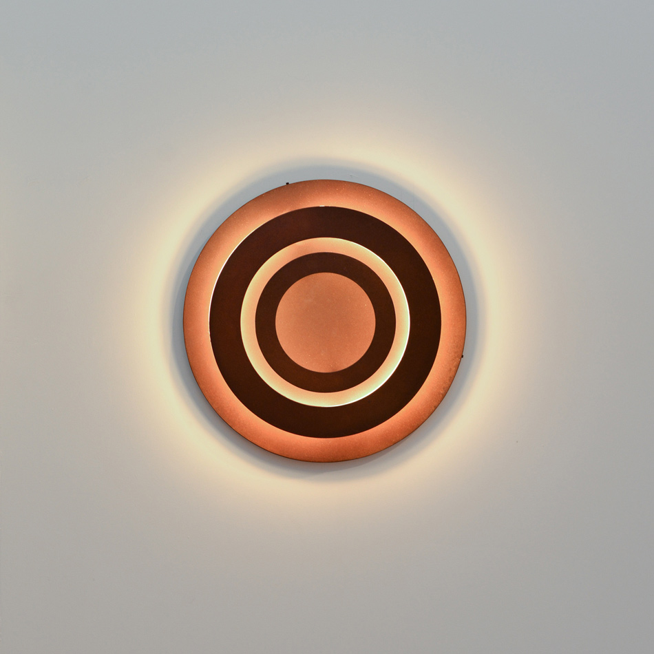 Fran Taubman - Eclipse Sconce - Japanese brown finish