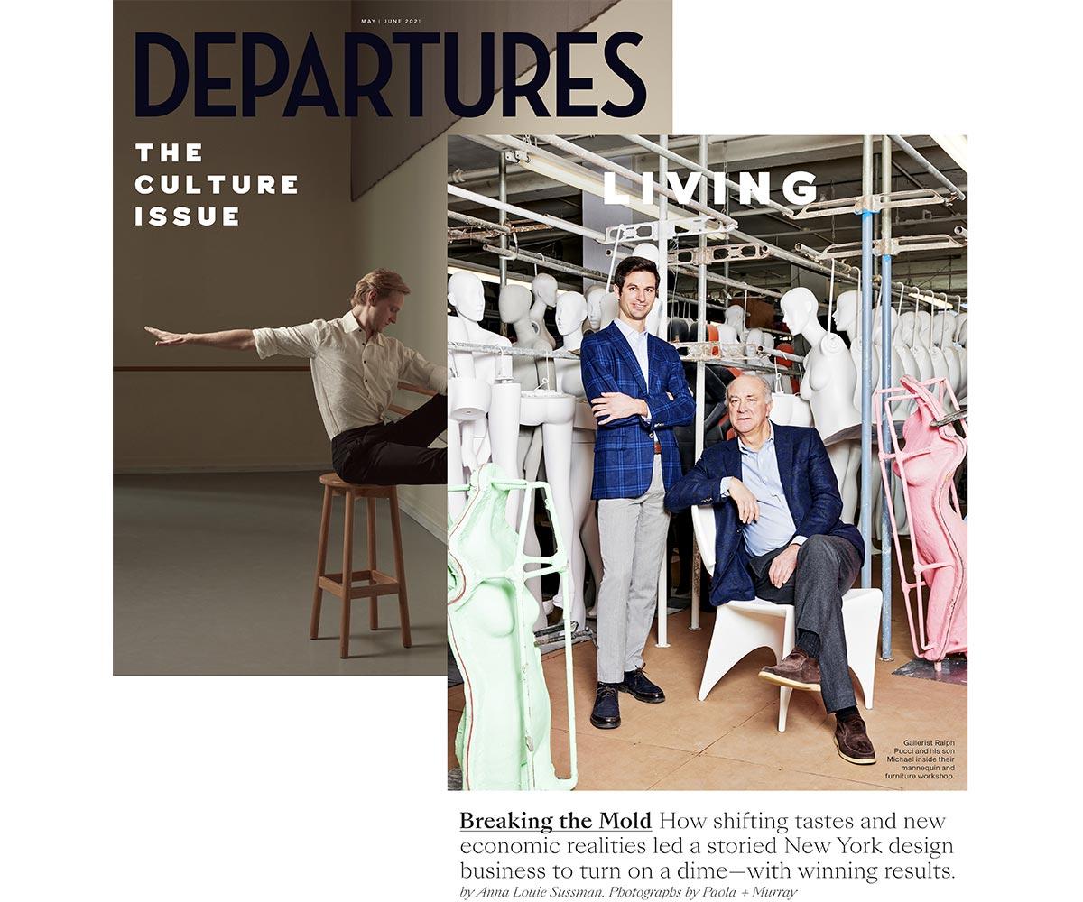 Ralph Pucci Departures Magazine