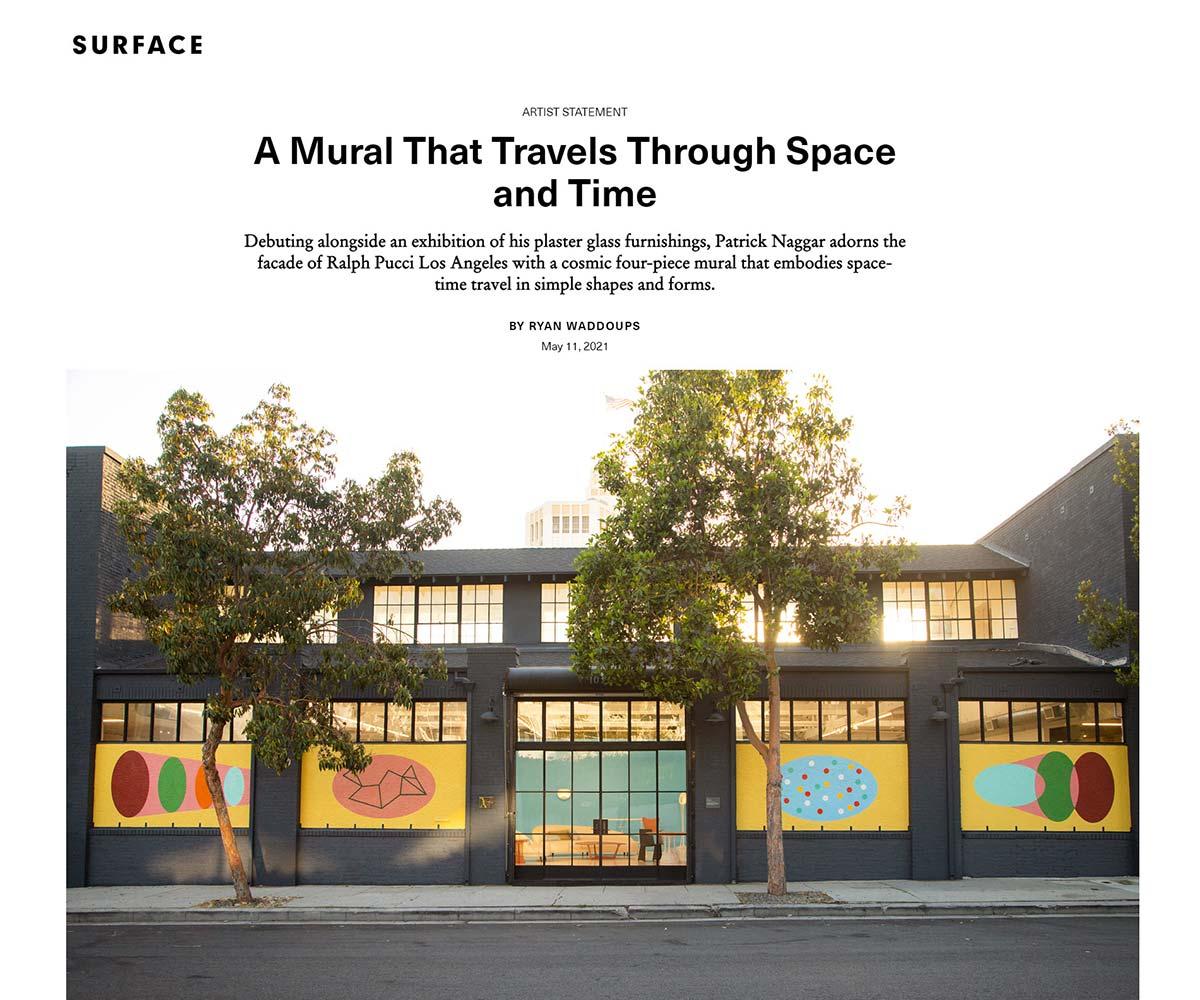 Surface Magazine - Patrick Naggar